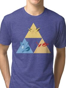 The Legendary Birds Triforce Tri-blend T-Shirt