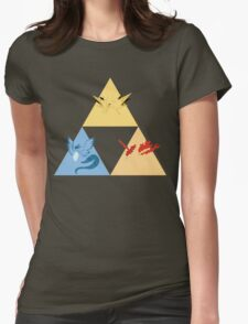 The Legendary Birds Triforce Womens Fitted T-Shirt