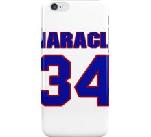 National Hockey player Norm Maracle jersey 34 iPhone Case/Skin