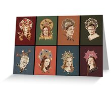 The Saints of Sunnydale Greeting Card