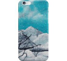 First Snowfall iPhone Case/Skin