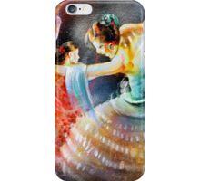 Flamencoscape 06 iPhone Case/Skin