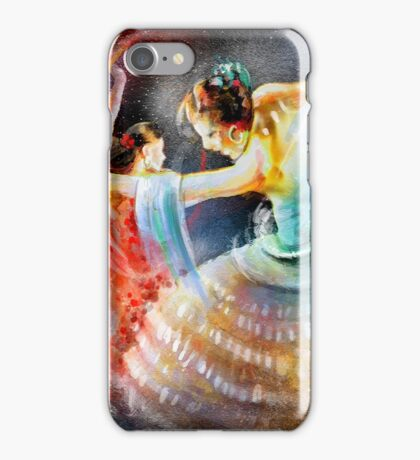 Flamencoscape 06 iPhone Case/Skin