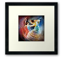 Flamencoscape 06 Framed Print