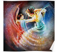 Flamencoscape 06 Poster