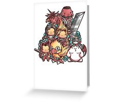 Cute Fantasy VII Greeting Card