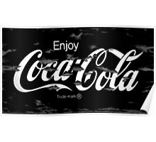 Old Paint - Coca Cola Poster