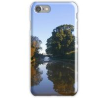Winter stillness on water iPhone Case/Skin