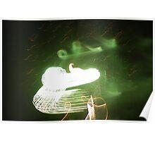 Firework Dragon Poster
