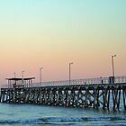 Sunrise at Largs - South Australia by Paul Clarke