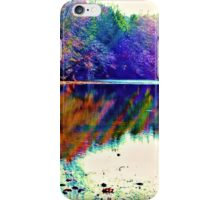 Rainbows On The Water iPhone Case/Skin