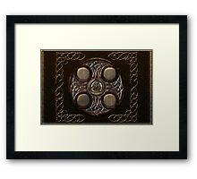Celtic Cross Full Metal Framed Print