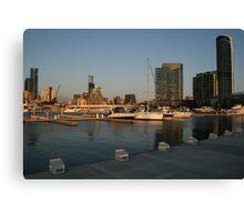 Docklands at Sunset - Melbourne Canvas Print
