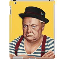 Hipstory- Winston Churchill iPad Case/Skin