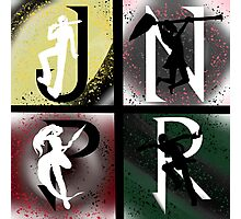JNPR 4 Way Combo Characters Photographic Print