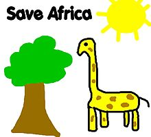 Save the Giraffes by greatshirts