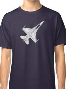 F16 Fighter Aircraft Classic T-Shirt
