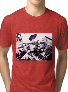 Castle Wall 02 Tri-blend T-Shirt