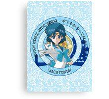 Sailor Mercury - Sailor Moon Crystal (rev. 1) Canvas Print