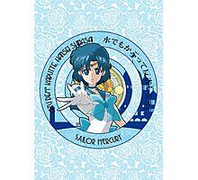 Sailor Mercury - Sailor Moon Crystal (rev. 1) Photographic Print
