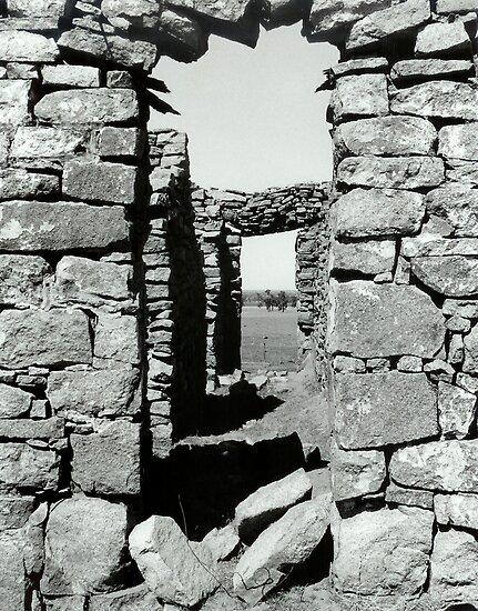 Desolate doorway by Belinda Fraser