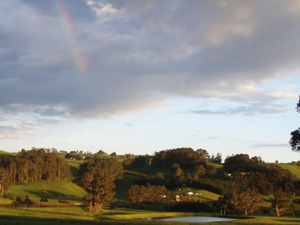 Sheffield rainbow - hope glows by gaylene