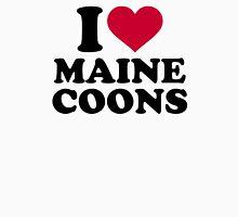 I love Maine Coons cat  Unisex T-Shirt