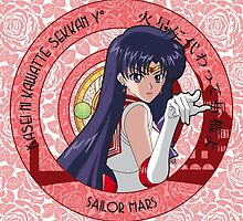 Sailor Mars - Sailor Moon Crystal (rev. 1) by alphavirginis