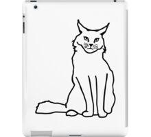 Maine coon cat iPad Case/Skin
