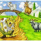 Three Billy Goats Gruff by kathrynmp