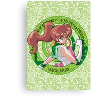 Sailor Jupiter - Sailor Moon Crystal (rev. 1) Canvas Print