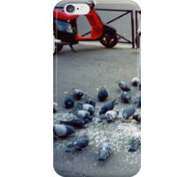 Parisian Pigeon Party, Spring 2000 iPhone Case/Skin