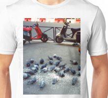 Parisian Pigeon Party, Spring 2000 Unisex T-Shirt