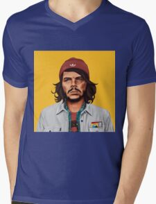 Hipstory- Che Guevara Mens V-Neck T-Shirt