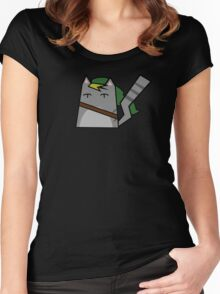 Link Cat Women's Fitted Scoop T-Shirt