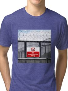 Authorised Personnel Only Tri-blend T-Shirt