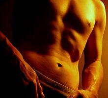 Male torso by mayuphoto