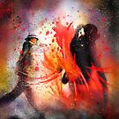 Flamencoscape 07 by Goodaboom