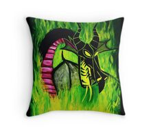 Maleficient's Anger Throw Pillow