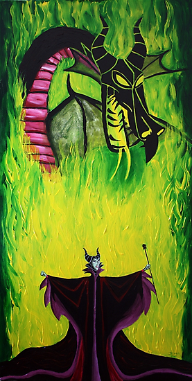 Maleficient's Anger by ArtbyJoshua