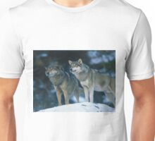 Two Wolves  Unisex T-Shirt