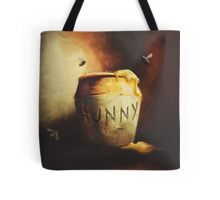 Pooh's Painting Tote Bag