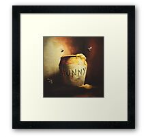 Pooh's Painting Framed Print