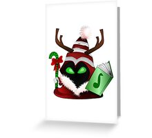 Christmas Minion Version - League Of Legends ( LOL )  Greeting Card