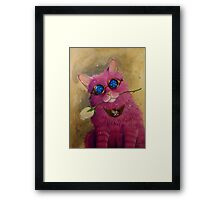 Beauty Punk Framed Print
