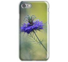 Blue Love in the Mist iPhone Case/Skin