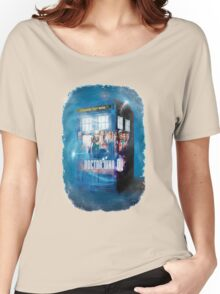Blue Box Painting tee T-shirt / Hoodie Women's Relaxed Fit T-Shirt