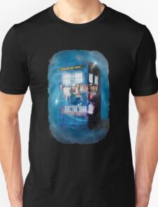 Blue Box Painting tee T-shirt / Hoodie T-Shirt