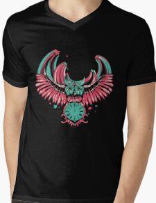 Night Owl Mens V-Neck T-Shirt
