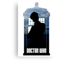Dr. Who silhouette T-Shirt / Hoodie  Canvas Print